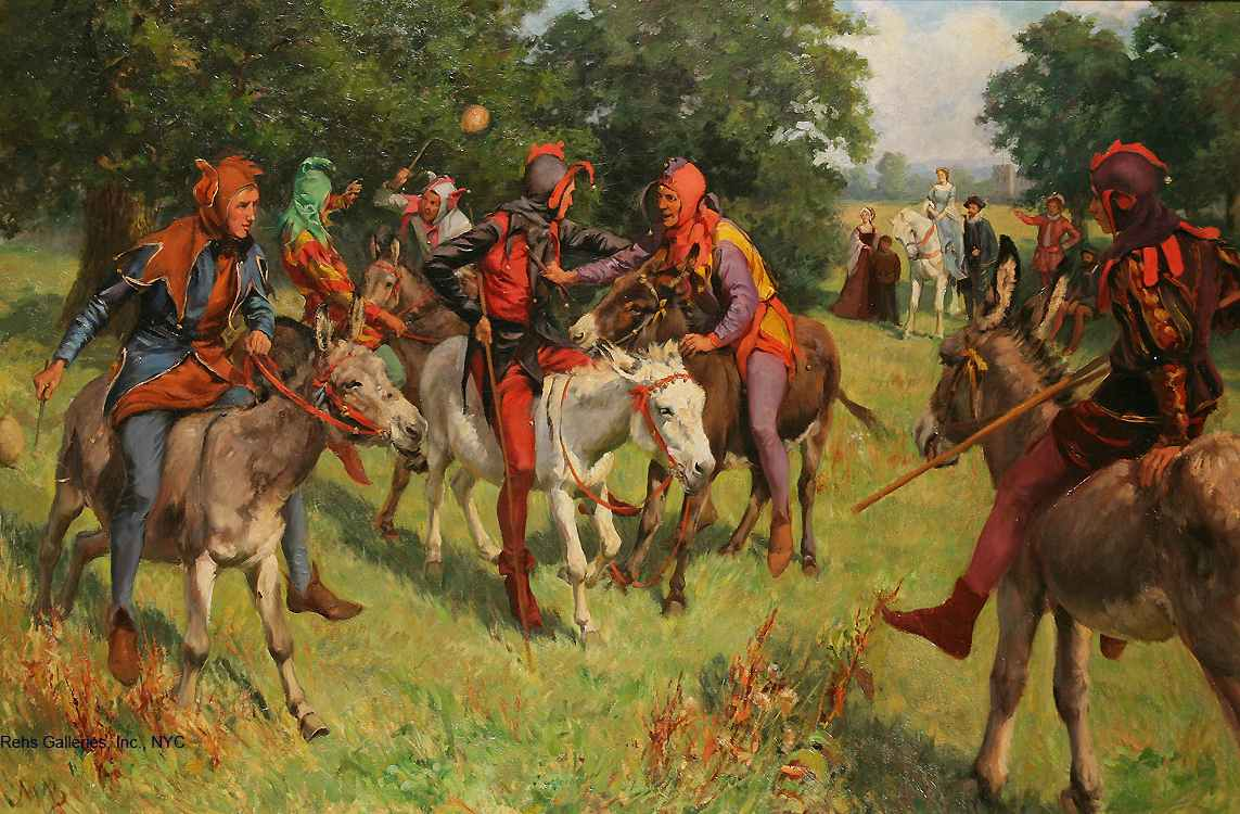 A Jesters Joust by Mary Browning