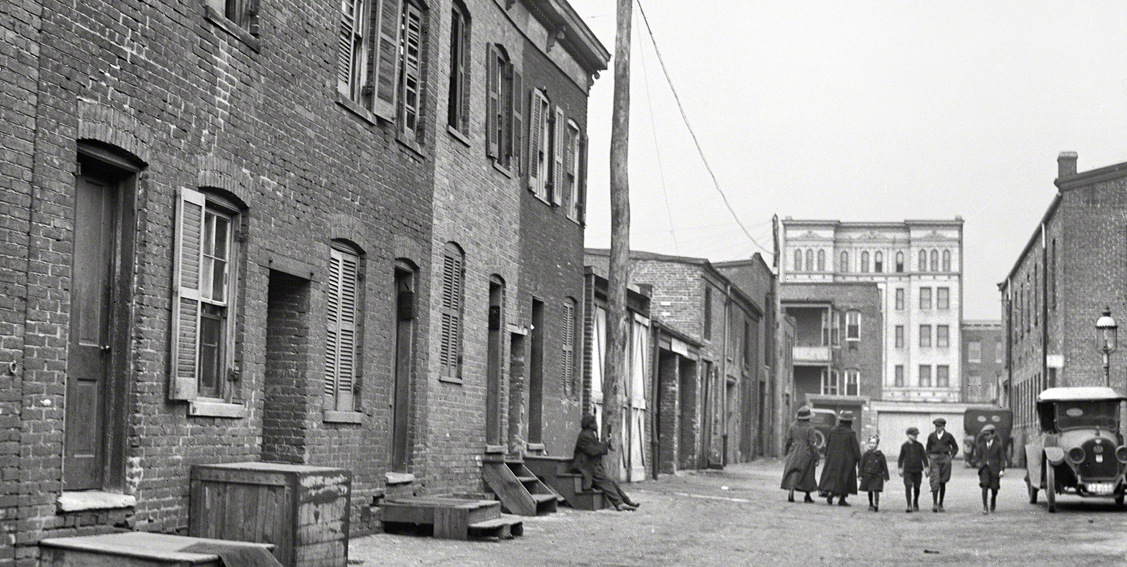 Blagden Alley, 1923, Courtesy of Shorpy.com