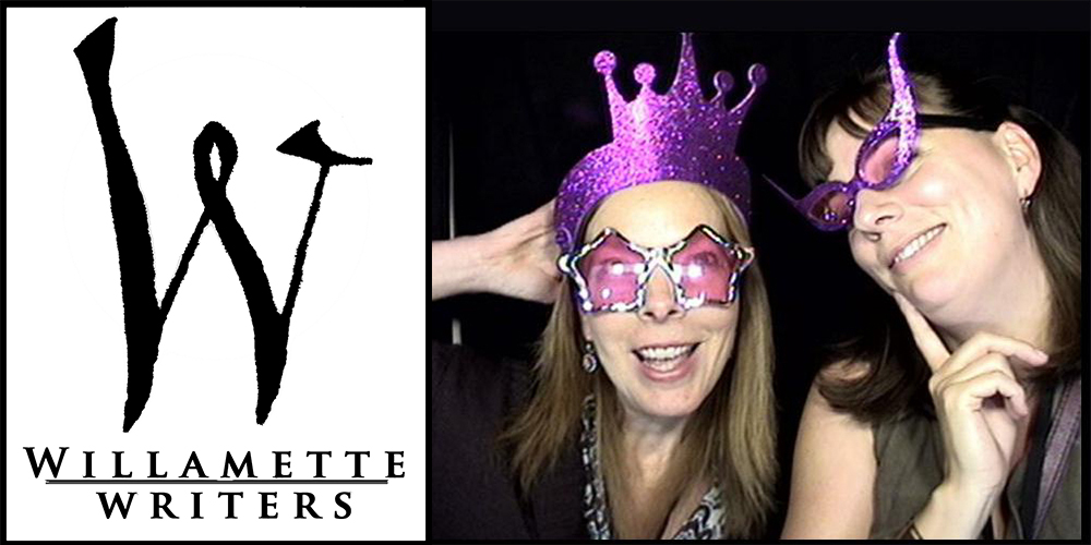 Willamette Writers Conference 2016 logo Jenny Schrader and Teresa Bergen