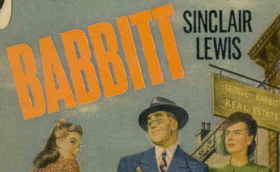 Babbit Sinclair Lewis novel cover